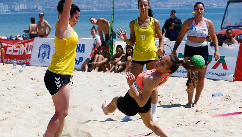 НА ЖИВО: Европейско първенсто по плажен хандбал за мъже и жени